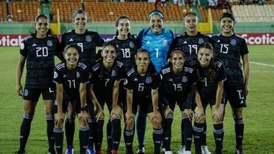 Zoe Aguirre representing Mexico at the FIFA U-20 World Cup