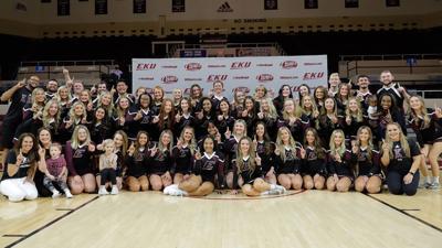 EKU cheer teams
