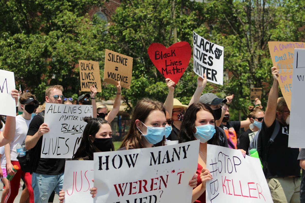 Black Lives Matter march in Richmond