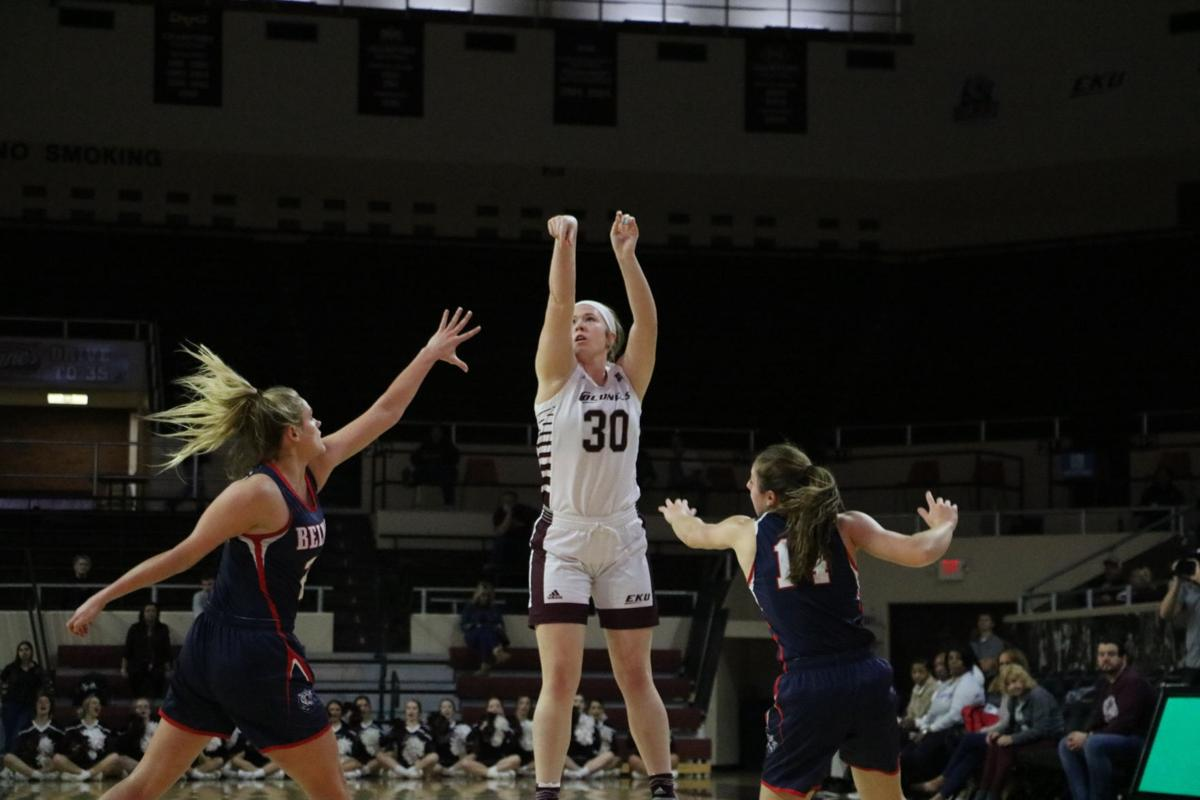 EKU women's basketball moving in the right direction