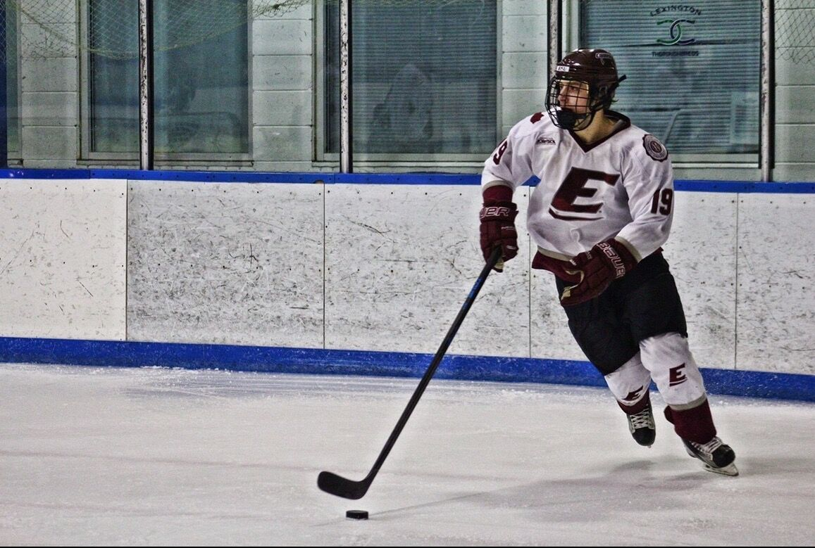 Gabe Bahn reflects on his four years after an unexpected senior hockey season