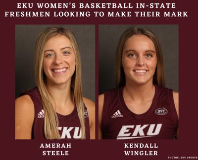 EKU women's basketball in-state freshmen looking to make their mark