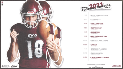 Eku Calendar Fall 2021 EKU football releases its 2021 season schedule, featuring six home