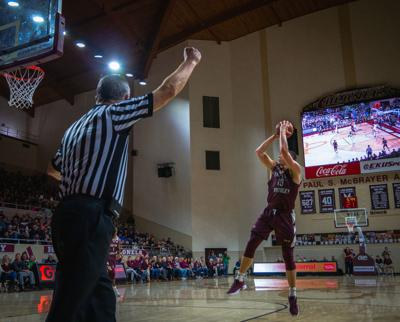 EKU basketball vs. Marshall- Nick Mayo