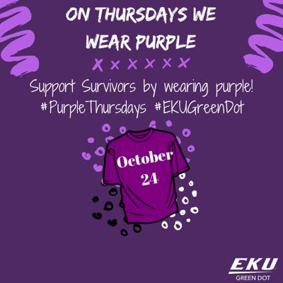 3rd Annual Purple Thursday