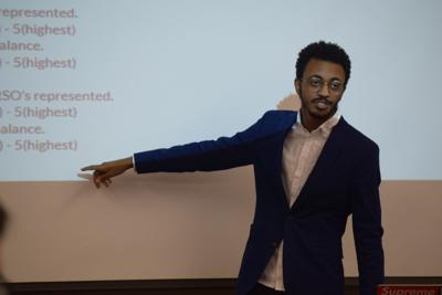 Eyiuel Mekonnen explains SGA diversity report