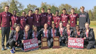 EKU cross country OVC champs