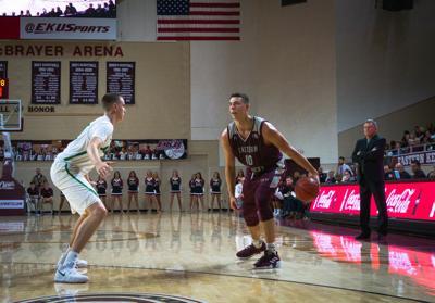 EKU men's basketball Nick Mayo