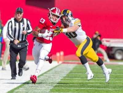 Stanley propels Iowa to 42-16 victory over Indiana