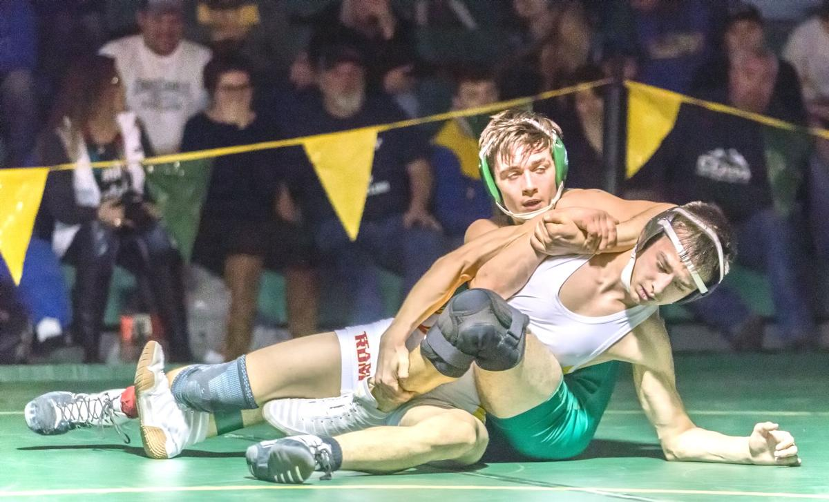 Wrestling | Chambers picks up district title for Bucks