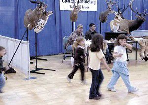 Vendors endure dwindling crowds at sportsman show