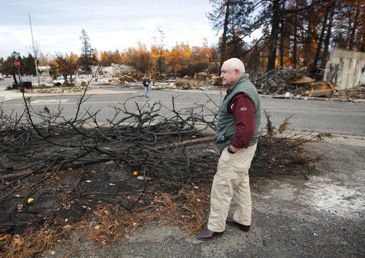 Zinke says Northern California fire costs likely in billions