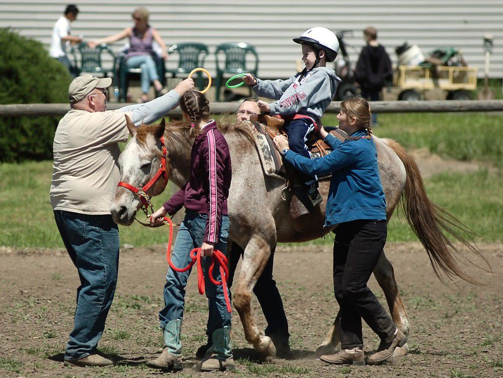Hooked on horses: Therapeutic riding spurs big gains