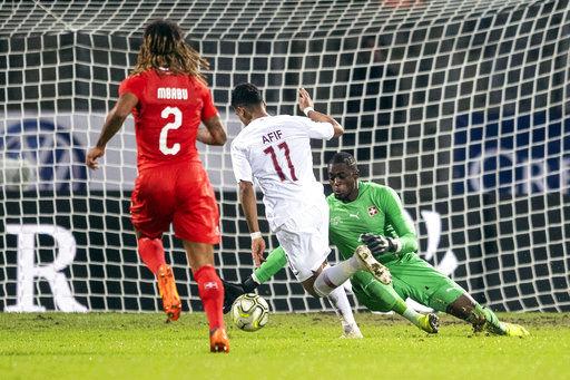 Qatar scores late to stun Switzerland 1-0 in friendly