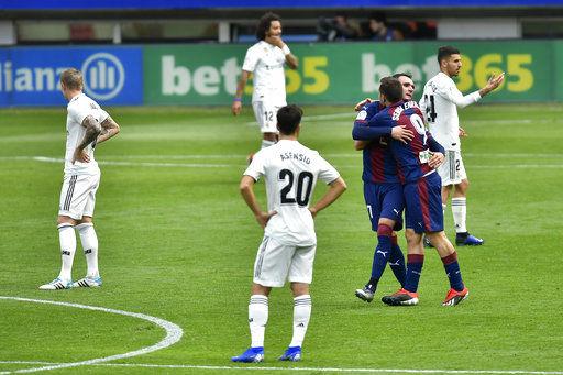 Embarrassing loss prompts concerns at Real Madrid