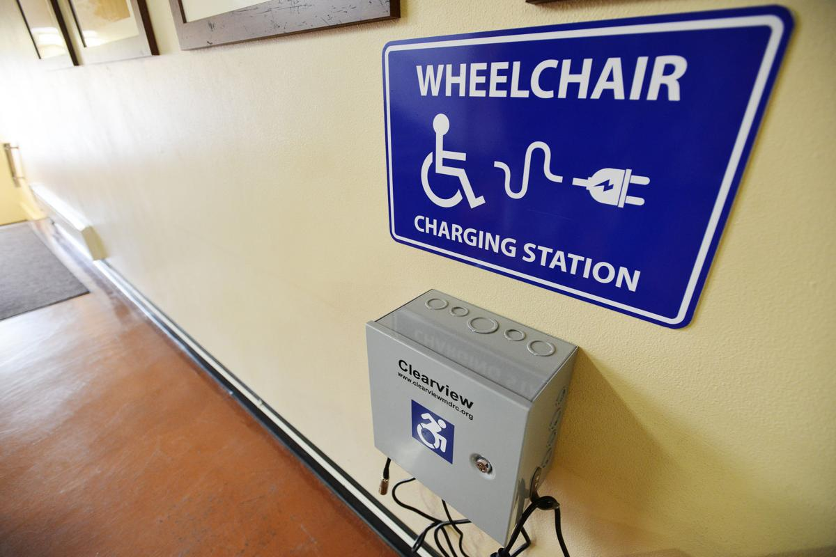 PENDLETON Courthouse gets power chair charger