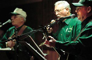 Irish Singers bring a touch of authenticity to region
