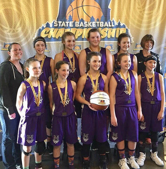 Hermiston youth girls teams make history with three state championships