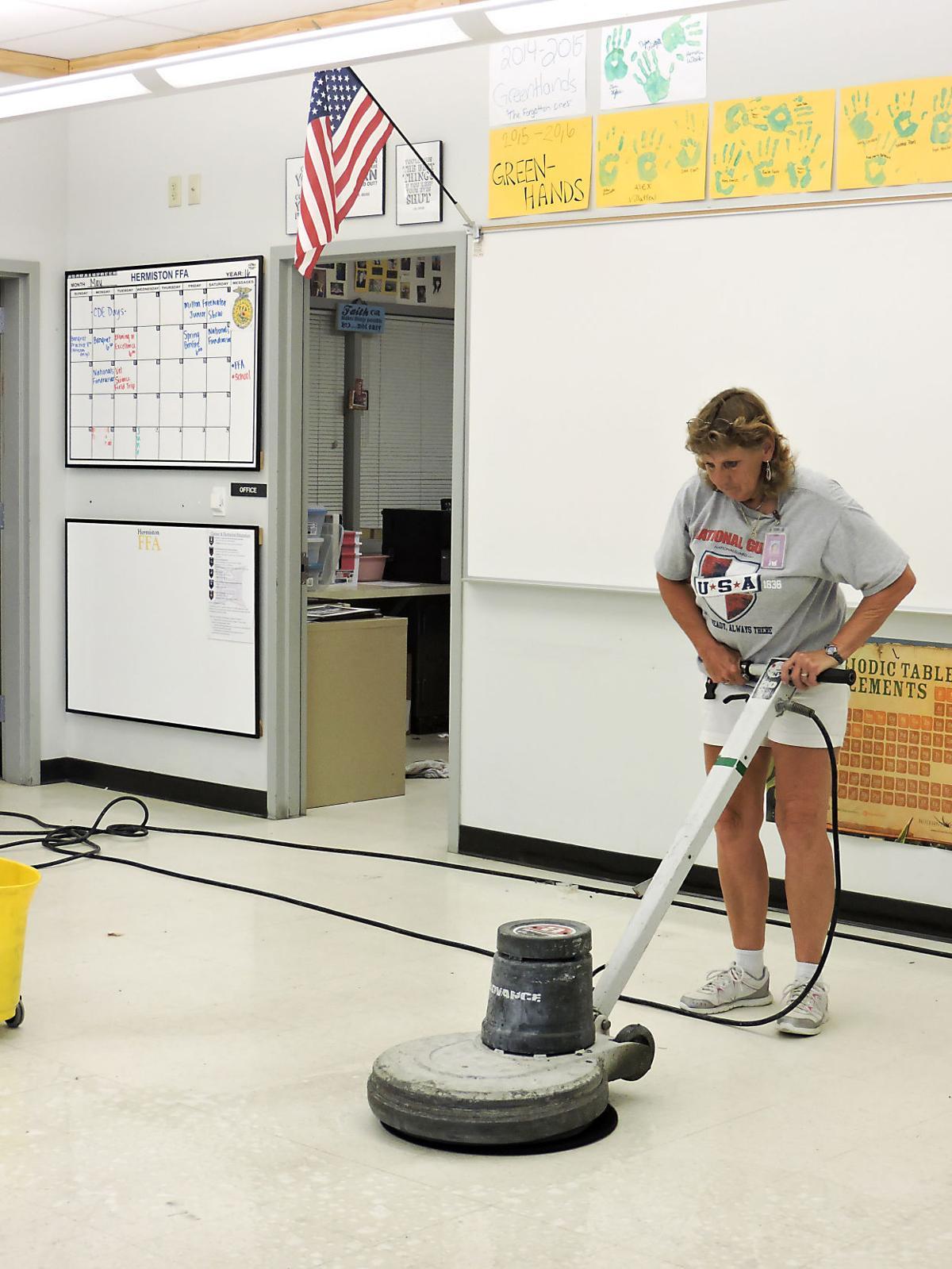 No summer break for Hermiston School District facilities crew