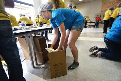 FFA students donate 40,000 meals to food banks