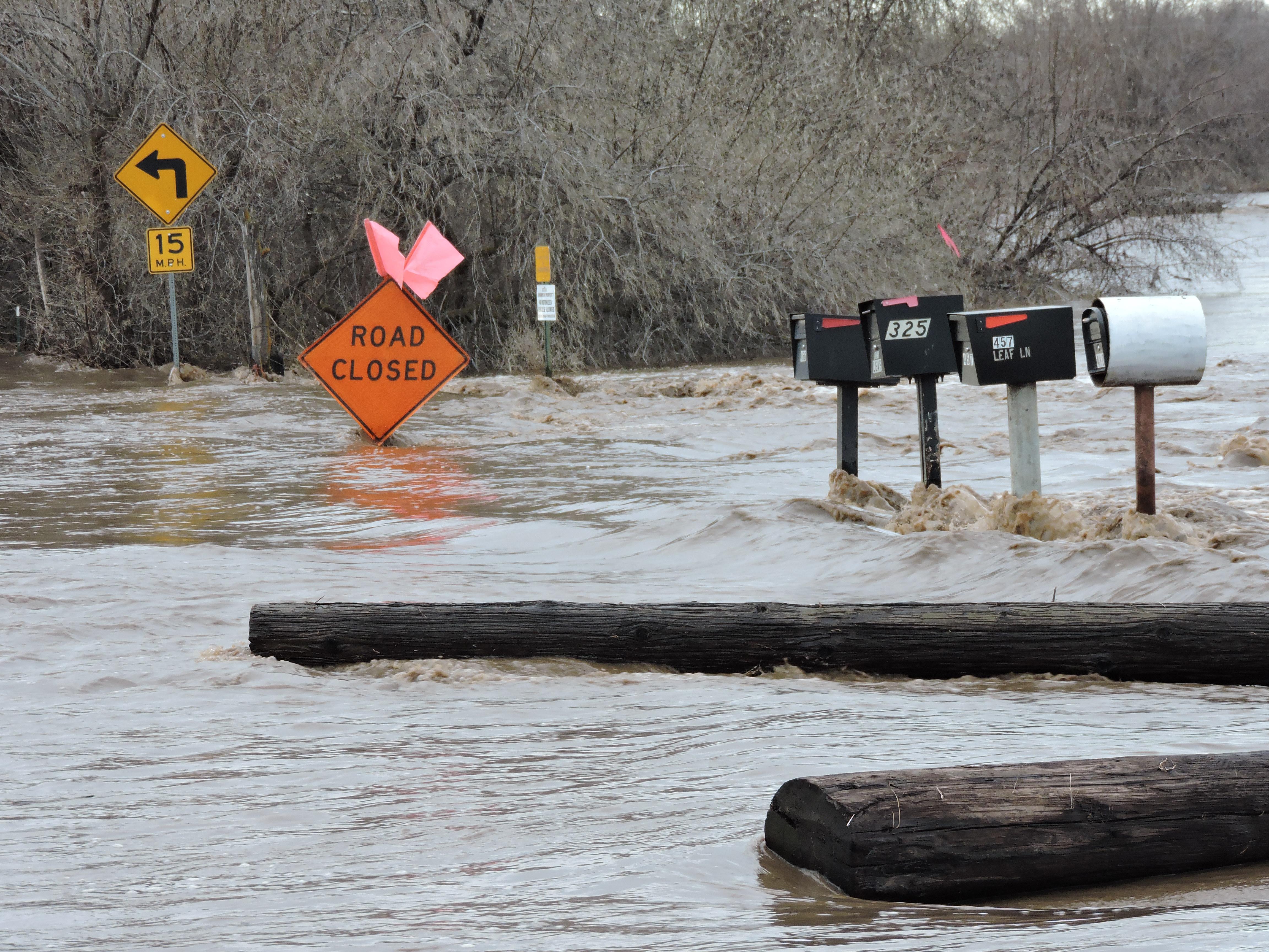 Umatilla River Flooding Stanfield Echo Homes And Roads Flooded Local News Eastoregonian Com