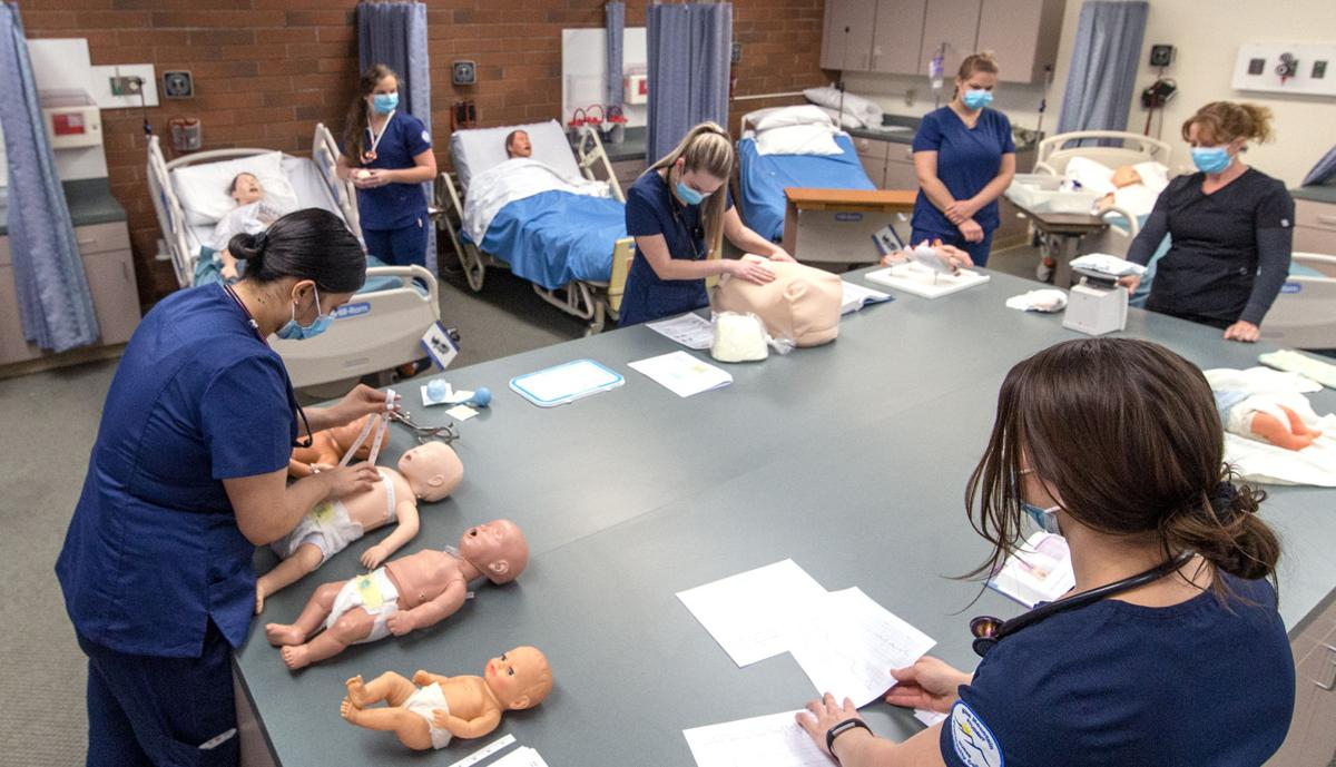 Hospital allows nursing students to continue clinical training during COVID