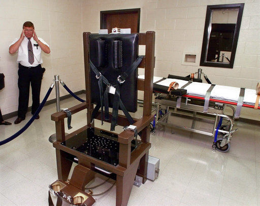 Tennessee: 2nd condemned man in weeks chooses electric chair