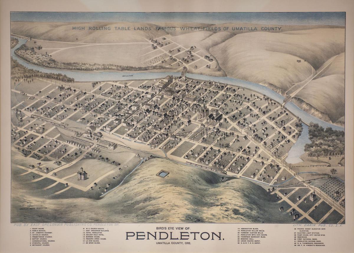 Pendleton Map 1890