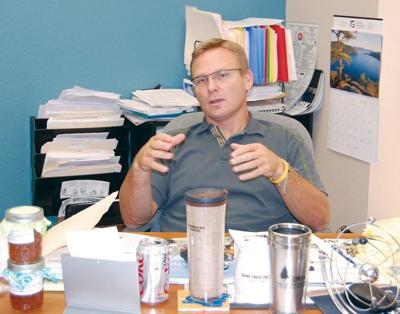 Program-changing director to take on new challenges