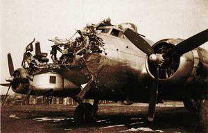 Oregon navigator helped return a busted B-17 to base