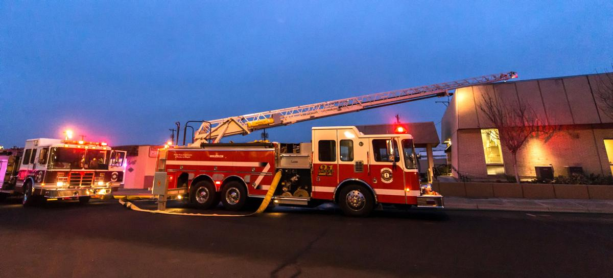 Hermiston City Hall fire