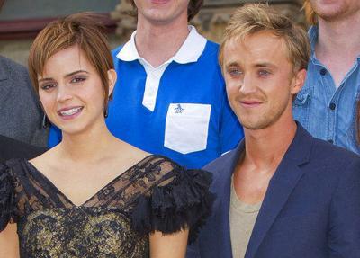 'Harry Potter' co-stars reunite for a skateboard ride