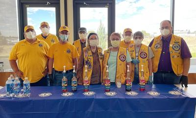 Lions Club serves hospital staff