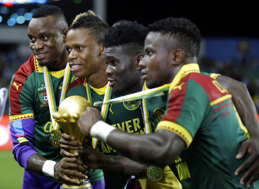 Cameroon dropped as African Cup host 6 months from kickoff