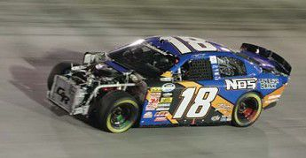 Wreck with Busch puts spotlight on Austin