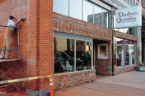 Group tours downtown facade projects