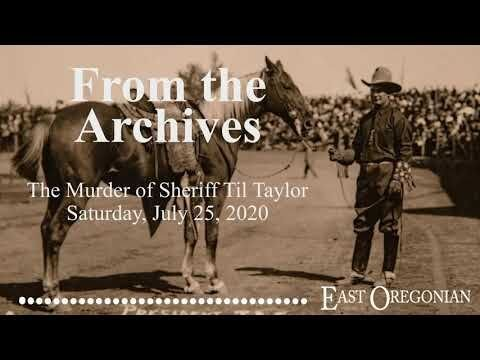 From the Archives: The Murder of Sheriff Til Taylor Promo