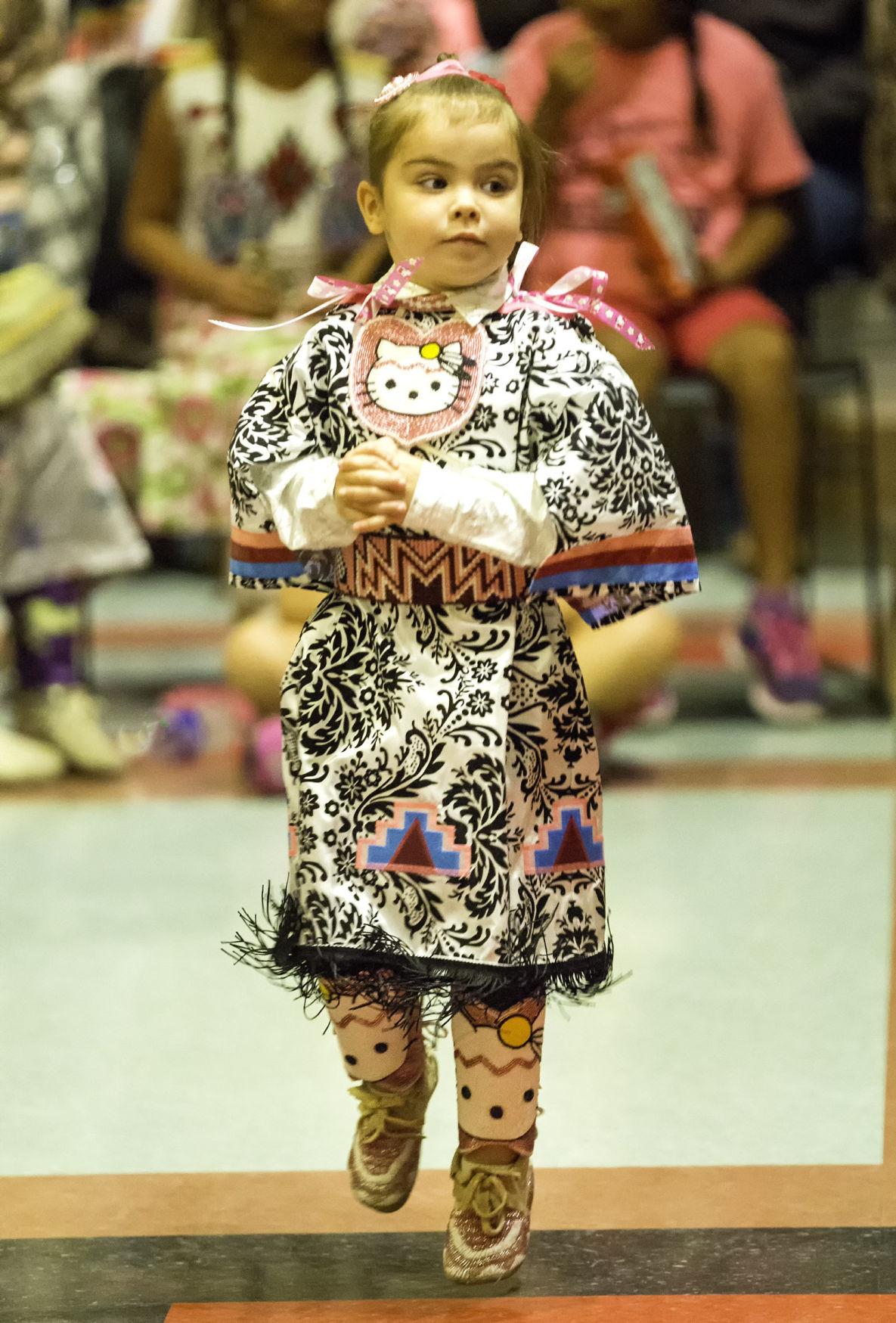 Pint-size powwow dancers find their rhythm
