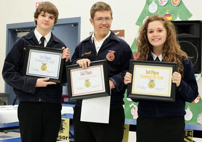Echo FFA students lead with creed