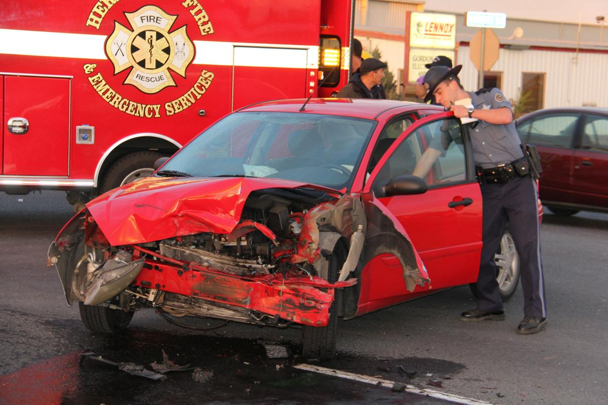 Another wreck occurs at Highway 395 and Baggett Lane | Local