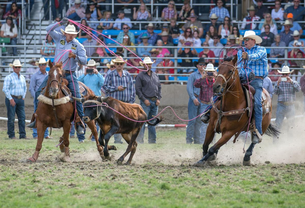 Rodeo | Pendleton Round-Up final day (team roping - smith Stewart)