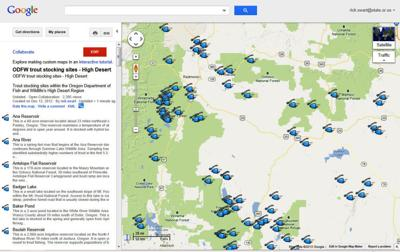 State fish and wildlife touts new trout map