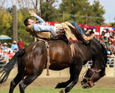 Bradley Cooper's stunt double rides in Pendleton