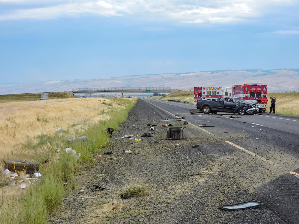 One dies in crash on I-84 | Local News | eastoregonian com