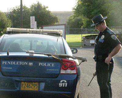 Trespassers find rifles on Pendleton school roof