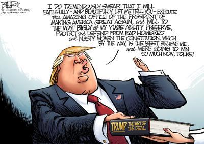 Retweeting Donald Trump