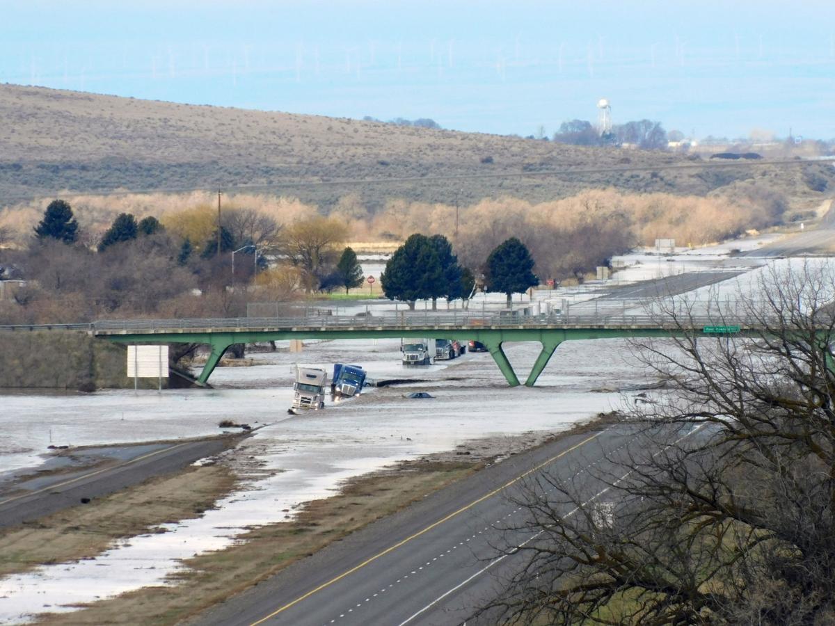 Interstate flood