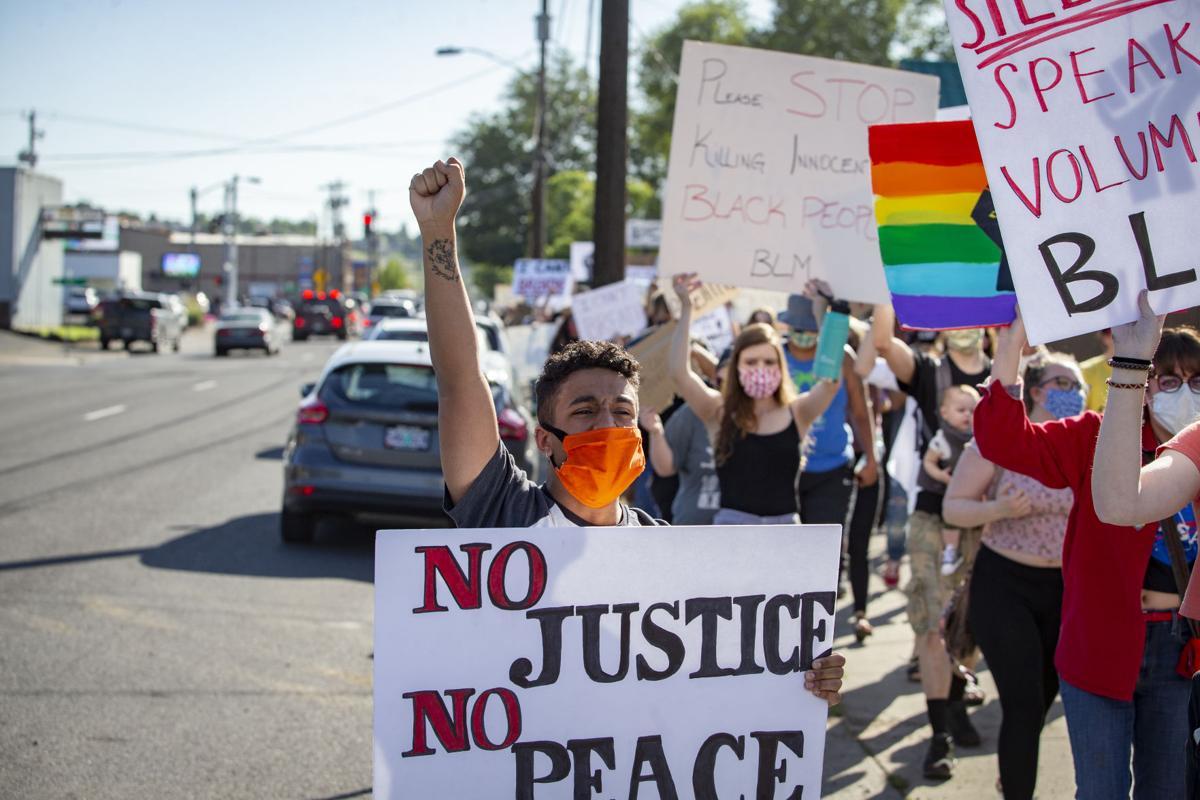 BLM Protest Pendleton