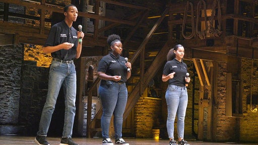 Teens tell America's story with help from 'Hamilton,'