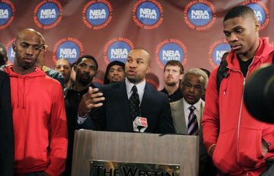 Players reject NBA's offer, threaten season